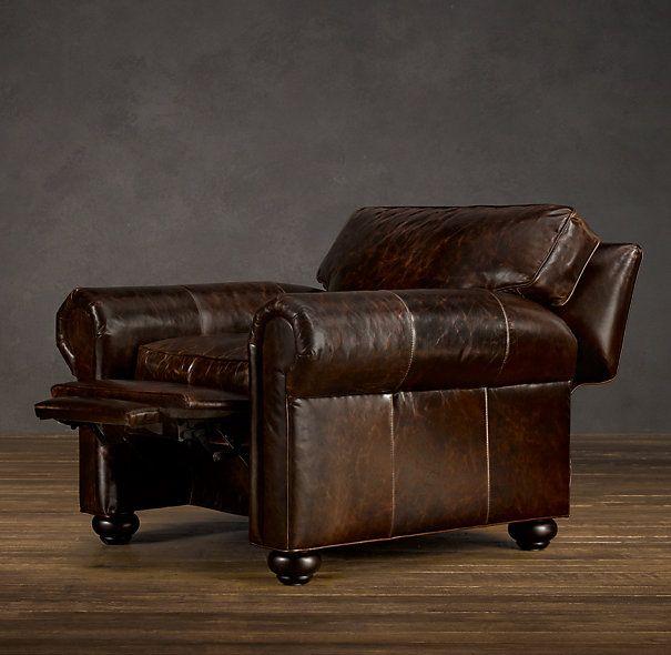 Original Lancaster Leather Recliner Decor Ideas