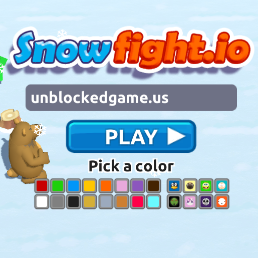 Snowfight.io free games Games, Play free online, School