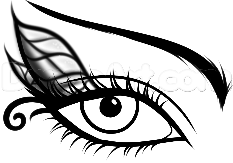 How To Draw A Fairy Eye Step 8