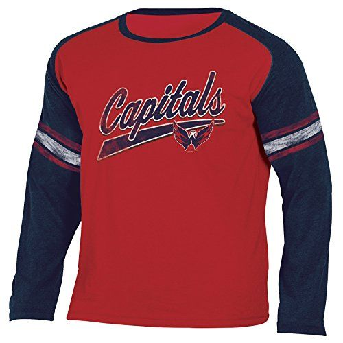 NHL Washington Capitals National Hockey League Long Sleeve Tee 6bd6c7862
