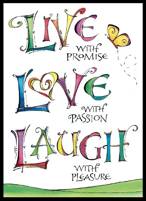 Live Love Laugh Quote Cool This Is Beautiful.zenspirations Designjoanne Fink Art