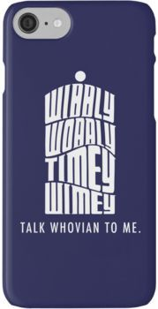 Talk Whovian To Me iPhone 7 Cases