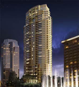 The Century Residences The Century Condominium Tower In The Century City Area Of Los Angeles City Condo Condominium Century City