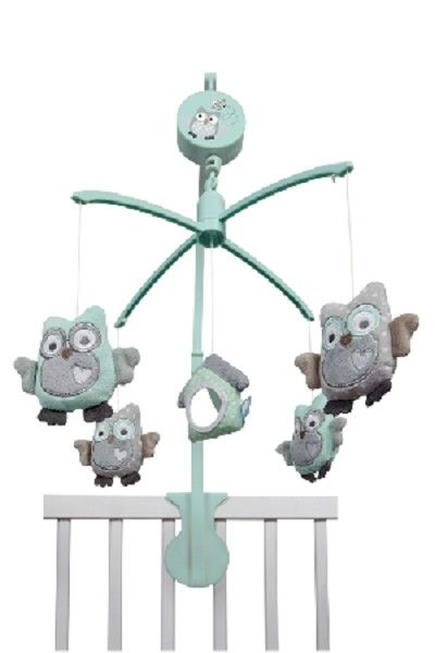Accessoires Babykamer Uil.Tiamo Uil Muziekmobiel Baby S Baby Owls Baby En Baby Boy