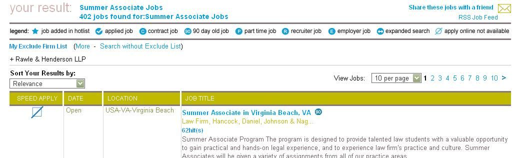 Summer Associate Jobs Find Your Summer Associate Job From