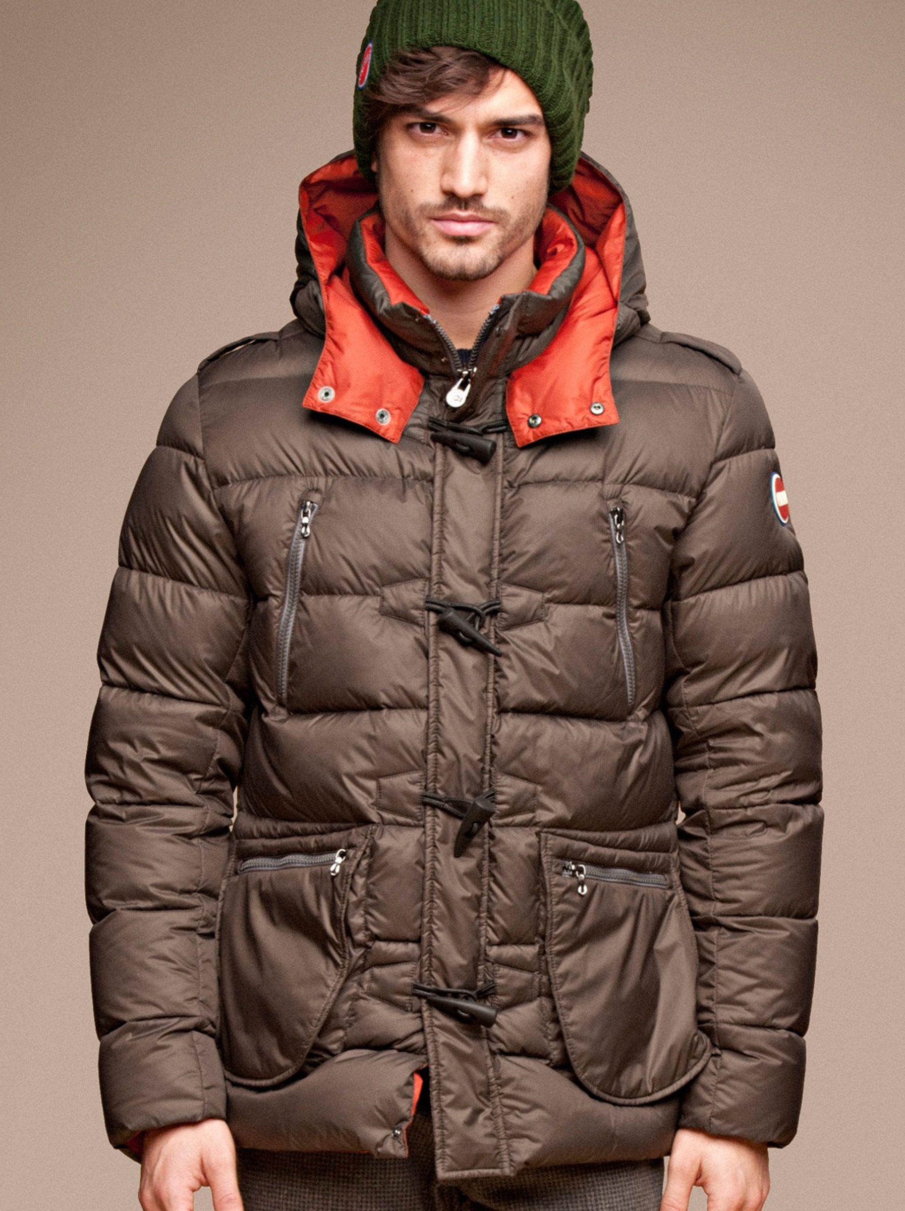 b2358e7f6cf7 Colmar Long Down Ski Jacket With Insulated Hat.  mens  ski  fashion  aspen
