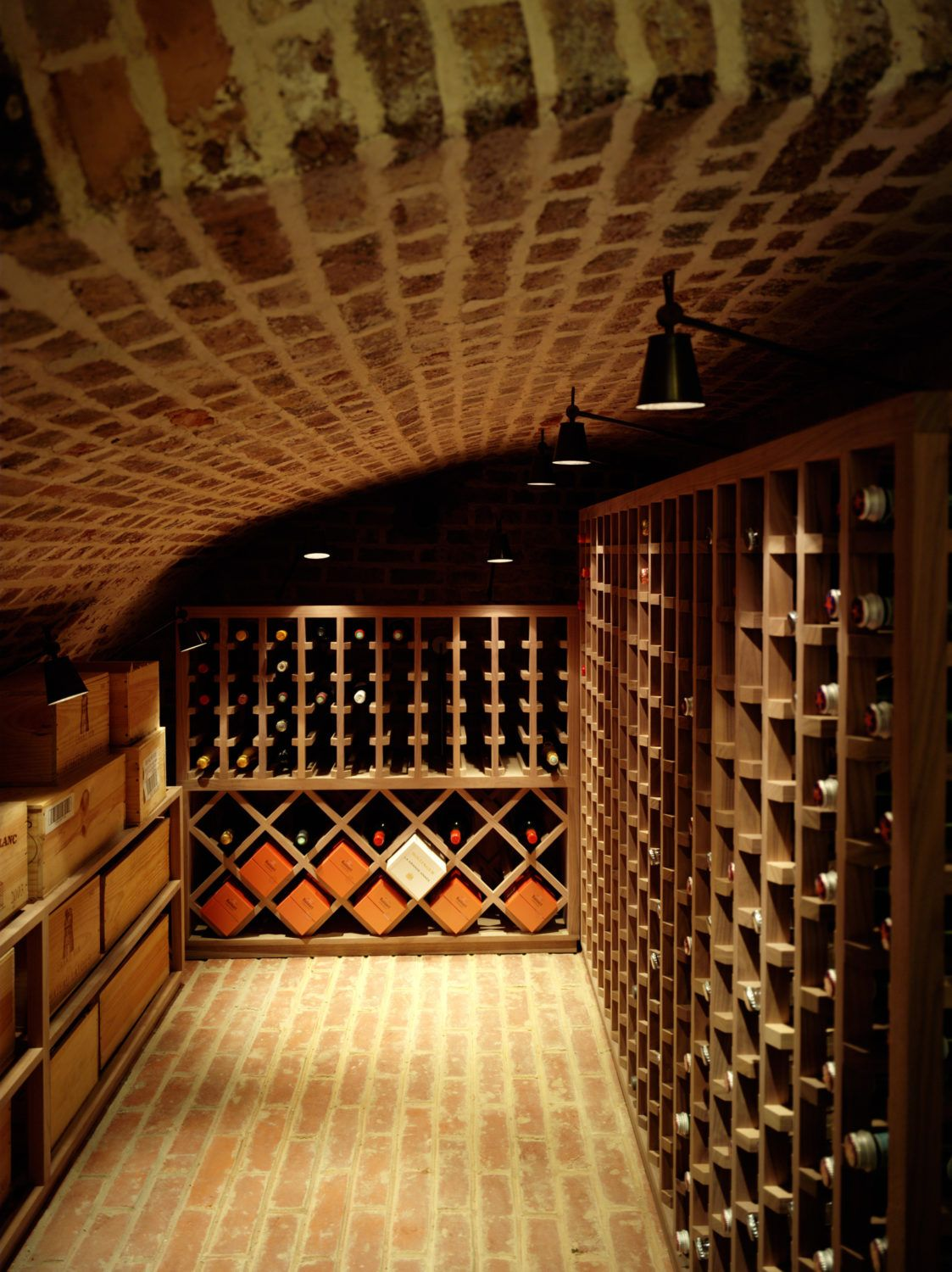 Projects Thorp Design Wine cellar design, Cellar