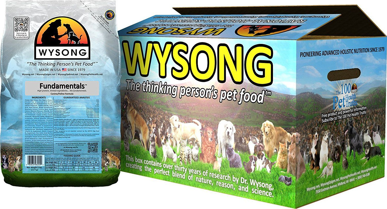 Wysong Fundamentals Caninefeline Formula Dry Dogcat Food Four 5