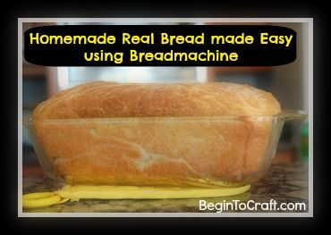 Homemade Easy Bread Recipe Begintocraft.com