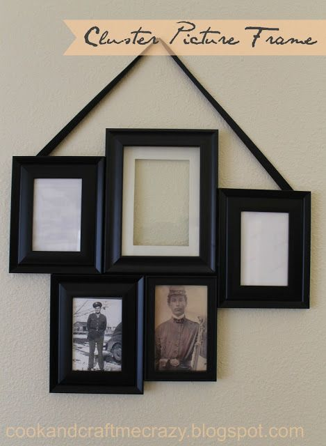 Pinch your pennies to make this cheap cute picture frame! | Cook and ...