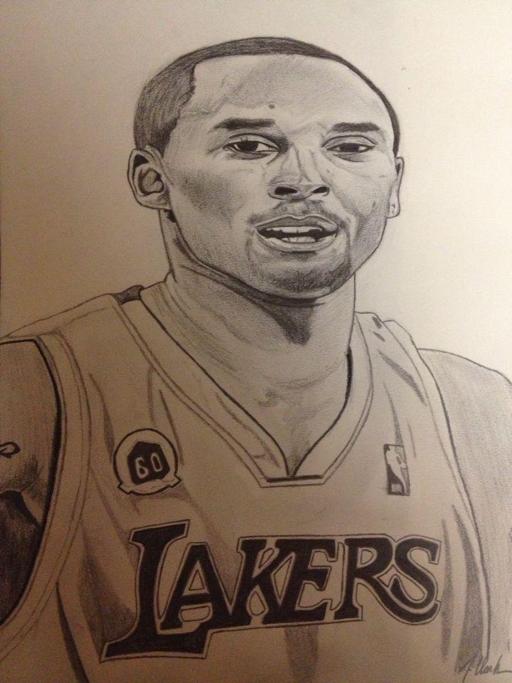 Kobe Bryant Mit Bildern Zeichnen