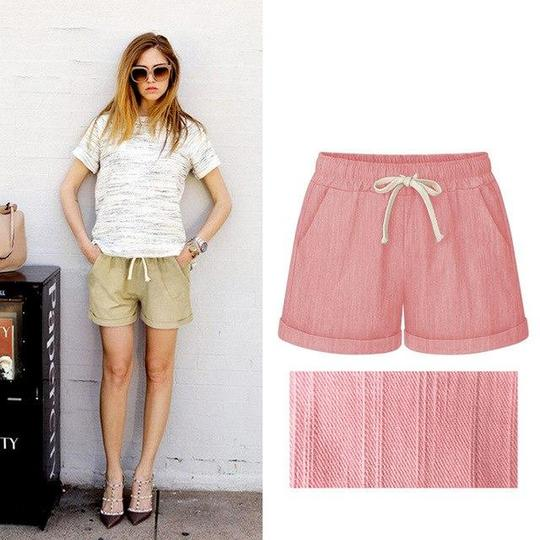 7c4f37b2c 2018 Summer Cotton Shorts Women Fashion Casual Short Pants Loose Slim –  rodewe