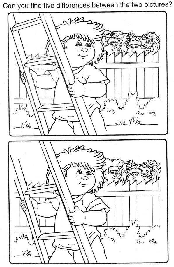 Cabbage Patch Kids | Coloring Pages | Pinterest