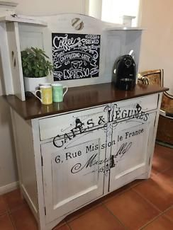 Coffee Station Beautiful Up Cycled Antique Buffet Side Table Buffets Side Tables Gumtree Australia Gold Coast Nor Antique Buffet Coffee Station Buffet