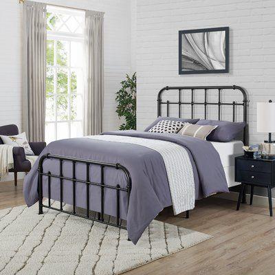 Best Birch Lane™ Heritage Gilleasbuig One Box Panel Bed Size 400 x 300