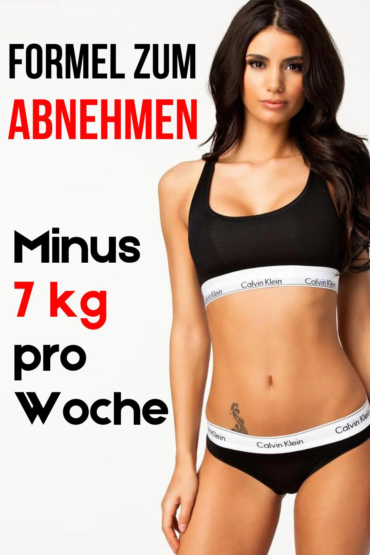 Photo of Formel zum Abnehmen: Minus 7 kg pro Woche.