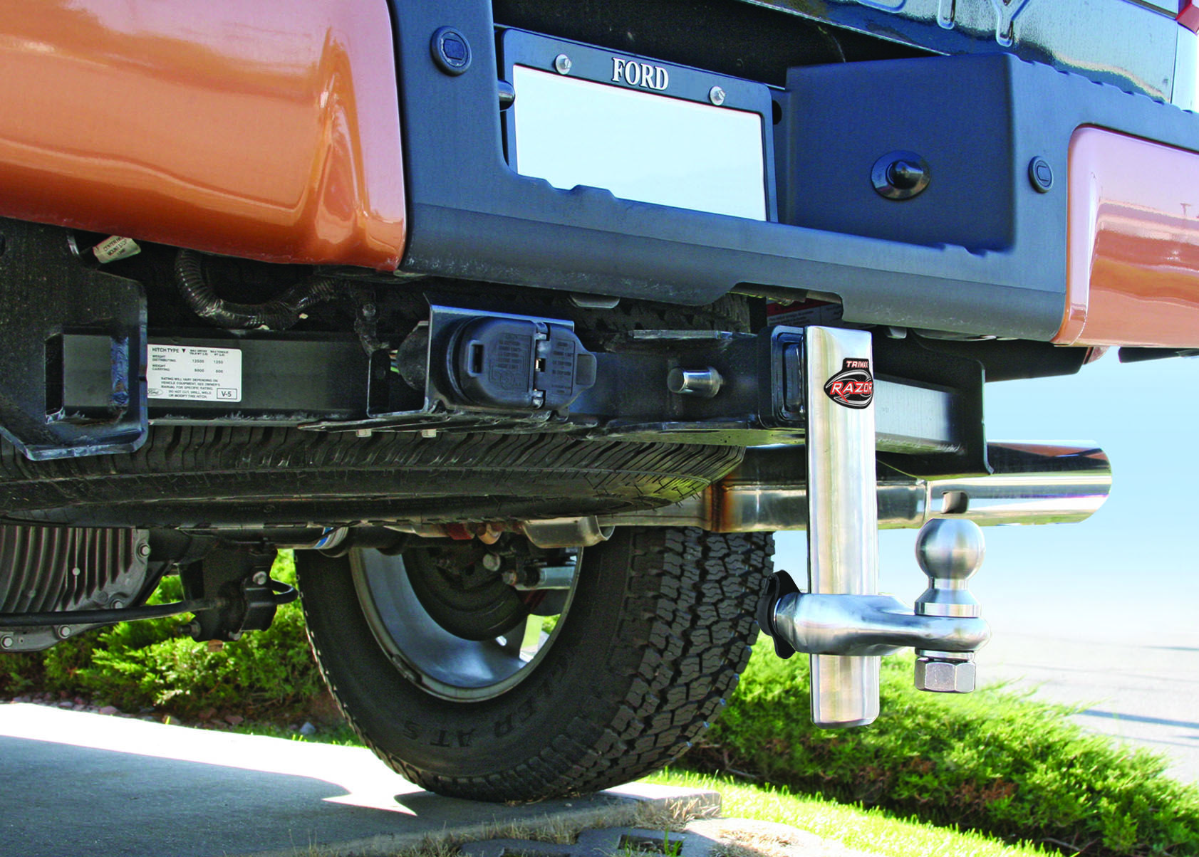 Installed and ready to tow bring us your heaviest
