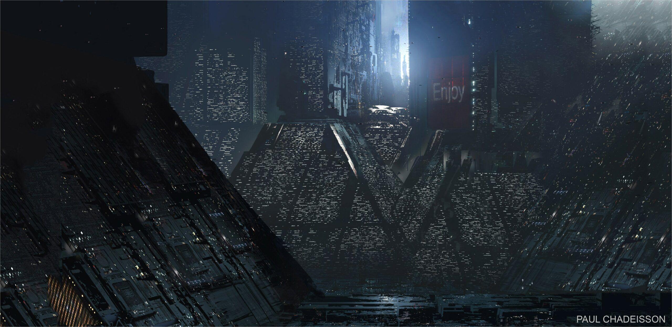 4k Wallpaper Blade Runner Wallpaper Blade Runner Landscape Wallpaper