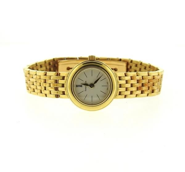 Tiffany & Co 18k Gold Quartz Ladys Watch Featured in our upcoming auction on November 3!