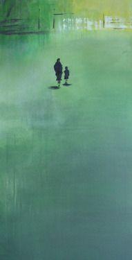 """Saatchi Online Artist Andrea Becker-Aschauer; Painting, """"spring 1.1"""" #art"""