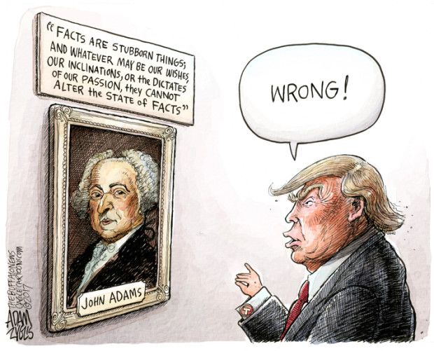 Funny John Adams Cartoon