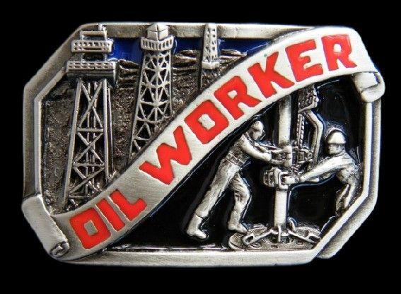 Oil Field Rig Rigs Worker Belt Buckle Buckles