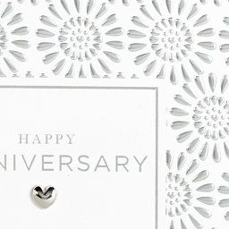Embossed Silver Happy Anniversary Card M S Happy Anniversary Cards Happy Anniversary Anniversary Cards