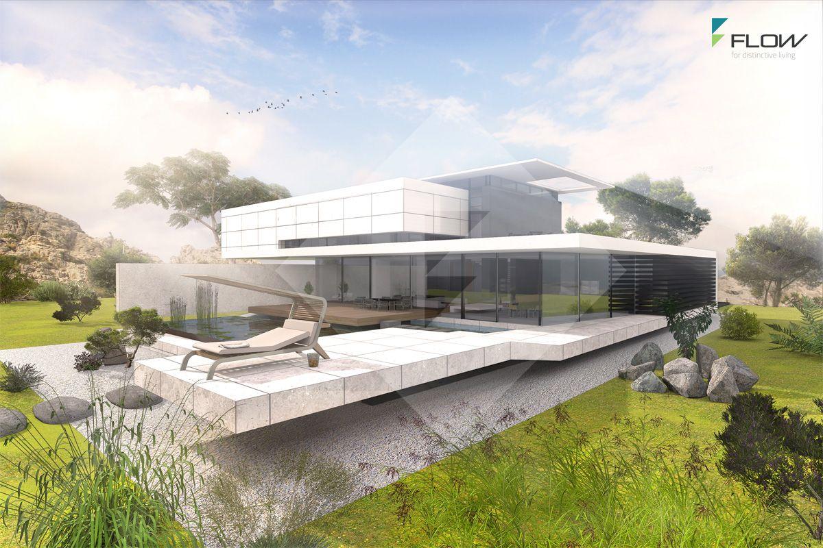 Modern House Concept by www.flow-architektur.de | Homes | Pinterest ...