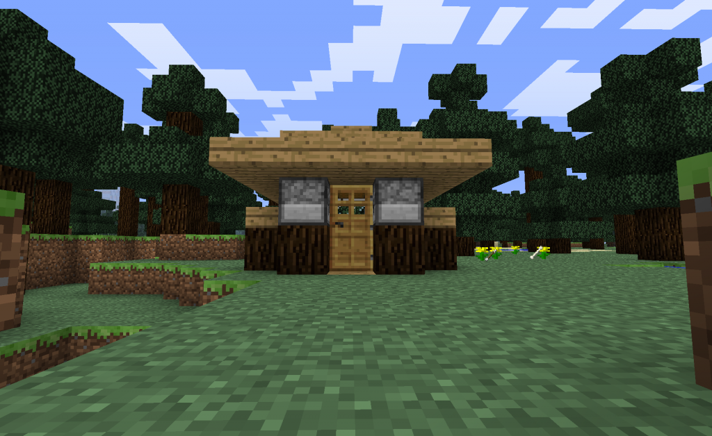 The Tiny House Challenge Cool Minecraft House Image C4fun Cool Minecraft Houses Minecraft Houses Cool Minecraft