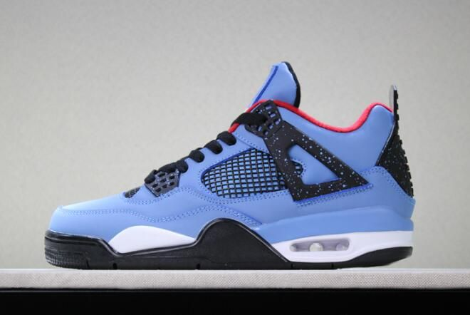 Travis Scott x Air Jordan 4 Houston Oilers 308497-406 For Sale  7e87dd557a