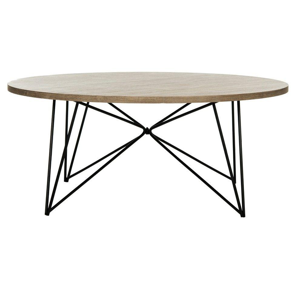 Maris Mid Century Coffee Table Light Brown Black Safavieh Mid Century Coffee Table Marble Round Coffee Table Coffee Table Wood [ 1000 x 1000 Pixel ]