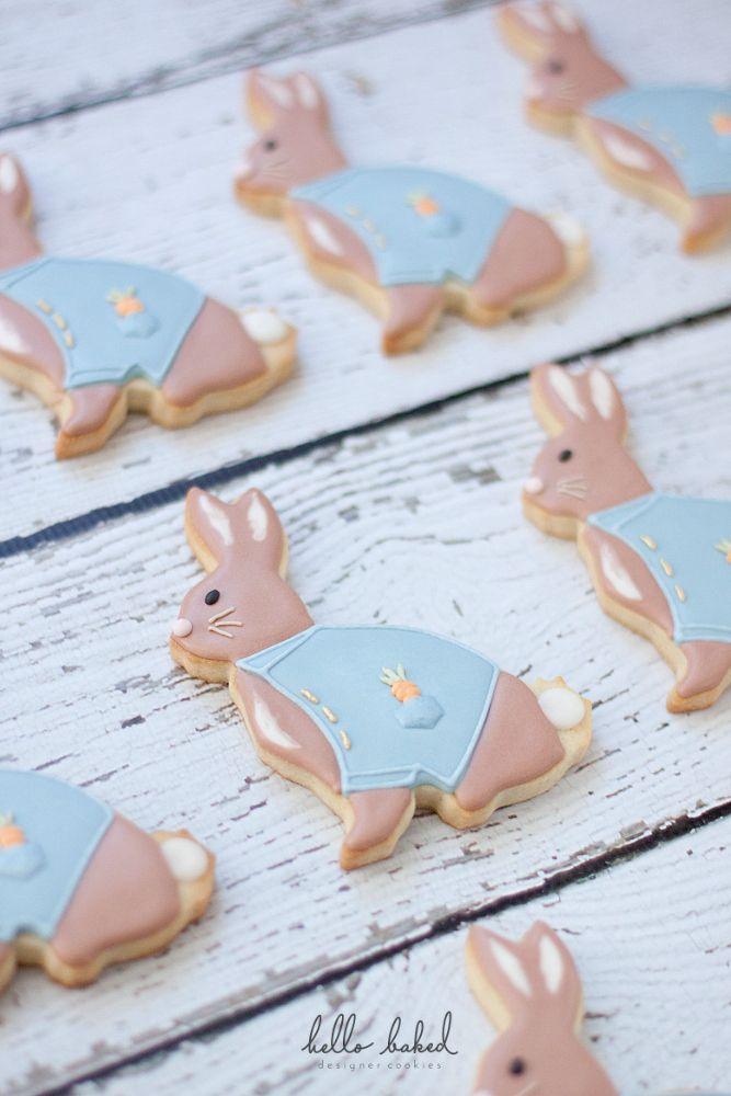 Peter Rabbit Decorated Sugar Cookies