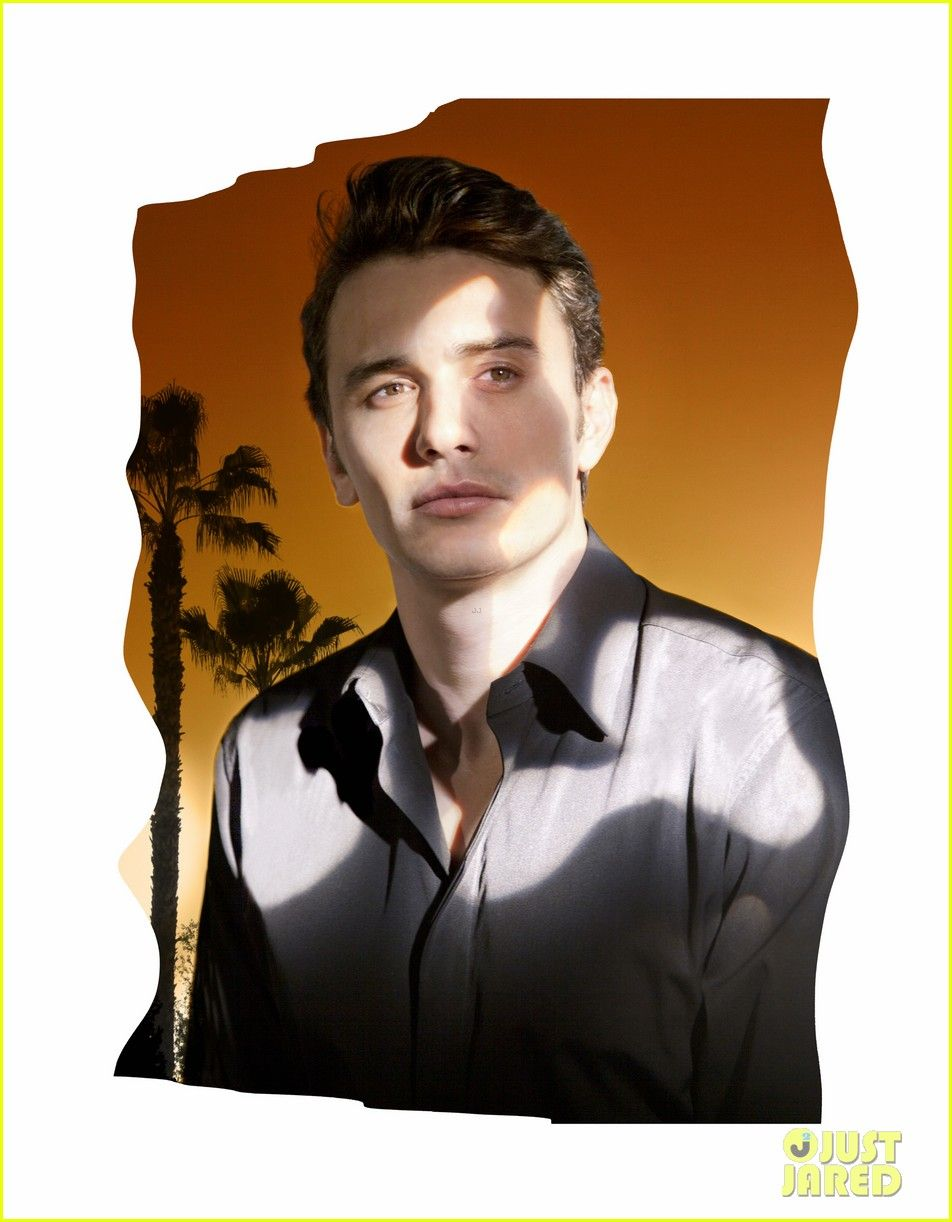 James Franco Covers Bullett Spring 2013