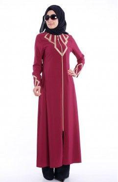 Dis Giyim Ferace Fashion High Neck Dress Fashion Trends