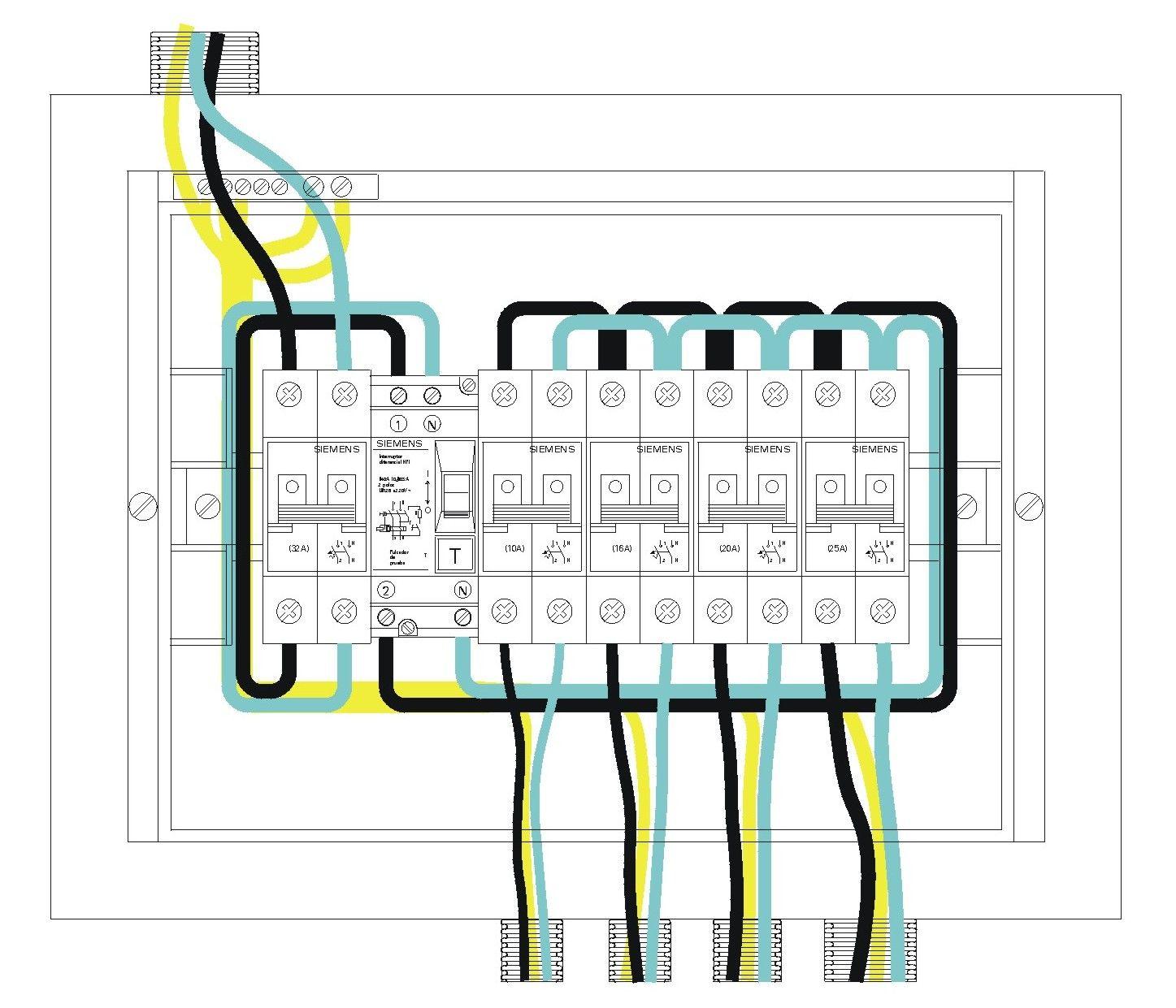 Circuito Unilineal : Diagramas unilineales esquemas de circuitos eléctricos tableros