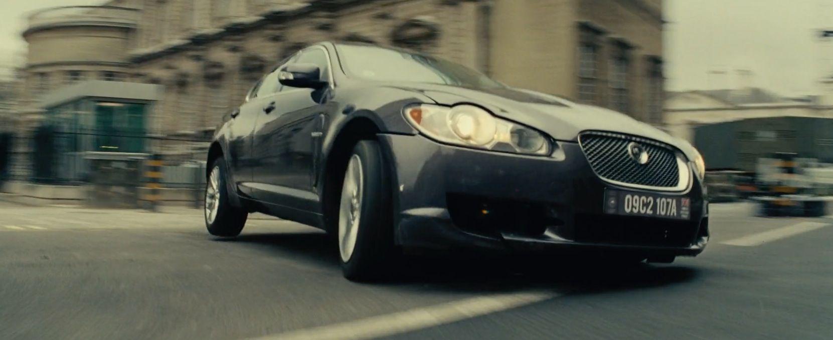 Jaguar XF [X250] (2008) driven by Emily Blunt in EDGE OF TOMORROW (2014) #jaguar