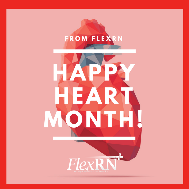 happy americanheartmonth from flexrn whether or not you re a