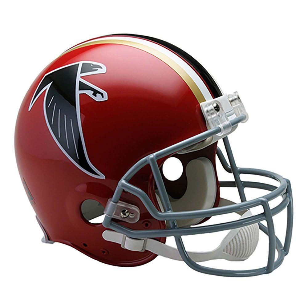 Riddell Atlanta Falcons Full Size Throwback 1966 1969 Vsr4 Authentic Football Helmet Atlanta Falcons Helmet Football Helmets Mini Football Helmet