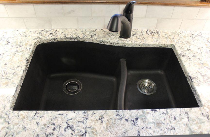 Swanstone Nero Quartz Sink