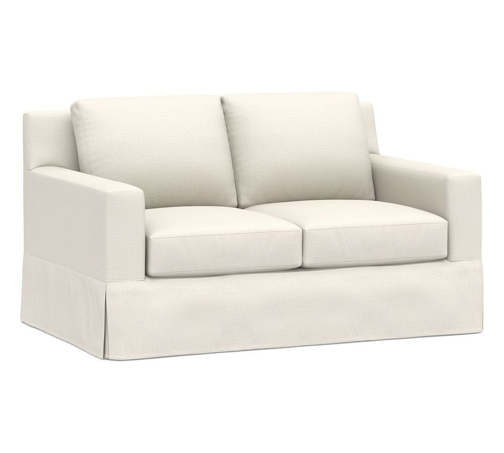York Square Arm Slipcovered Sofa Products In 2019