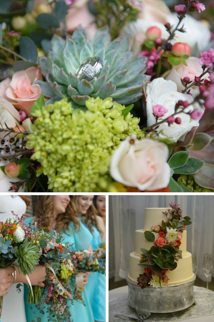 Our Succulent Themed Wedding
