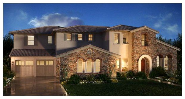 Fachadas de casas estilo californiano arq pinterest for Fotos de fachadas de casas estilo californiano