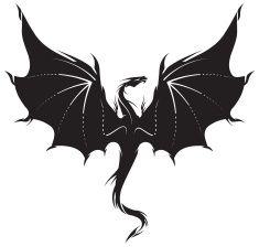 Magic The Gathering Illustrations Vector Images Dragon Silhouette Dragon Illustration Small Dragon Tattoos