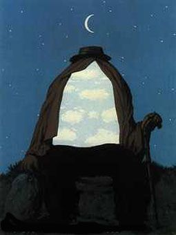 Ren magritte artist xx surrealism le th rapeute - Falso specchio magritte ...