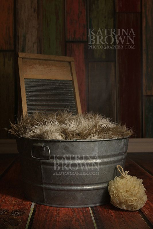 Washtub Baby Digital Backgrounds for Infant by HootieHooDesigns ...