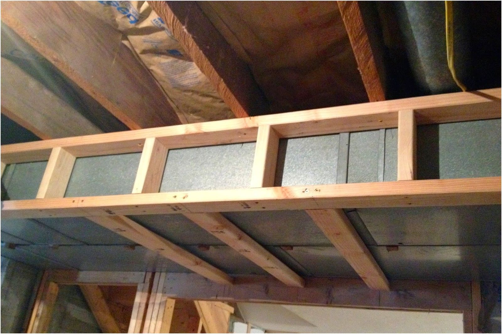 diy why spend more framing around ductwork in a basement from How To ...