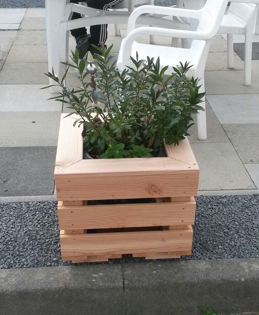Toom Kreativwerkstatt Blumenkubel Blumenkubel Pflanzenkubel Kubel