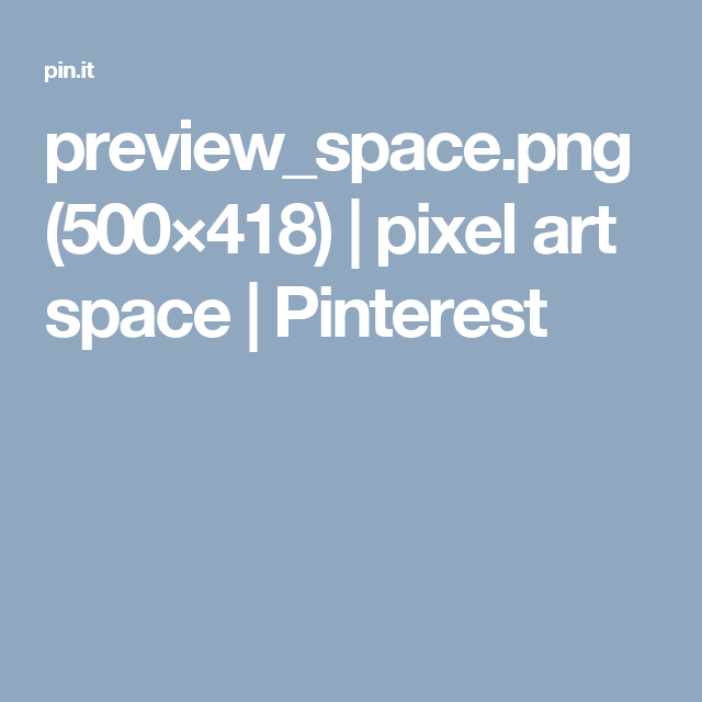 preview_space.png (500×418) | pixel art space | Pinterest