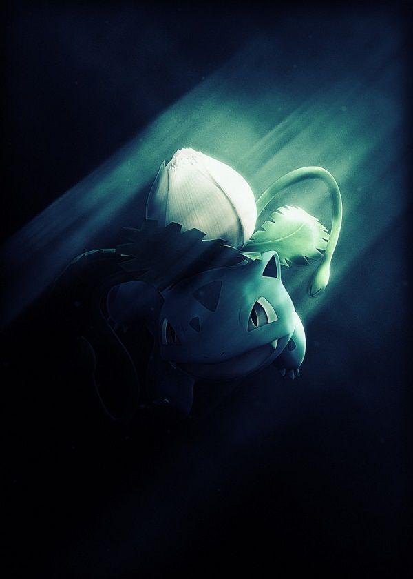"Super Smash Bros. Ultimate Light Characters Ivysaur #Displate artwork by artist ""Danaydal"". Part of… | Displate thumbnail"