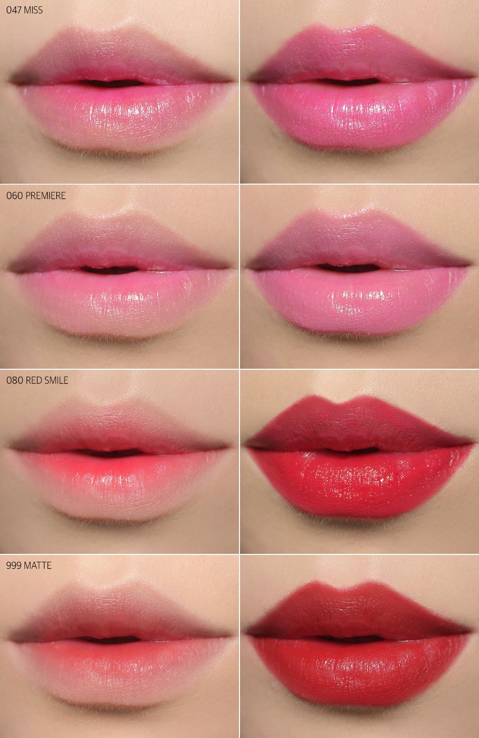 Dior Lip Tattoo Colors